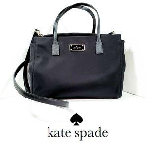 Kate Spade Black Loden Blake Avenue Satchel Bag